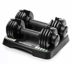 NordicTrack 25 lb Adjustable Weight Dumbbell Set Selecttech