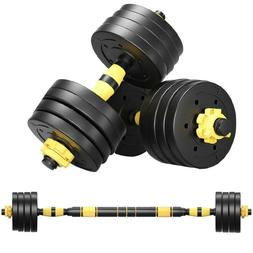 40KG Adjustable Weights Dumbbells Set, Free Weights Set With