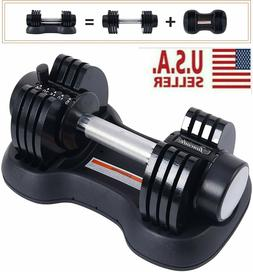 Adjustable Dumbbell 0525 Fitness Strength Training Workout S
