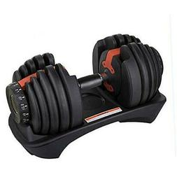 Adjustable Fitness Dumbbells 5-52 lbs Home Fitness Weight Du