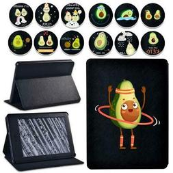 Avocado leather tablet Cover Case For Amazon Kindle 8th 10th