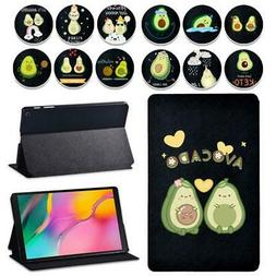 Avocado leather tablet Cover Case for Samsung Galaxy Tab A A