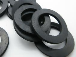 """Barbell & Dumbell Rubber Washers -1"""" ID.1 1/2"""" OD.1/8"""" Thick"""