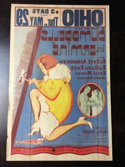 Dumbbells In Ermine - Robert Armstrong  US Window Card Movie
