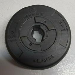 Orbatron Fit for Life Plastic Weights Plate 4.4lbs Set of 4-