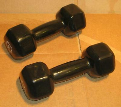 body solid 8 pound rubber coated hex
