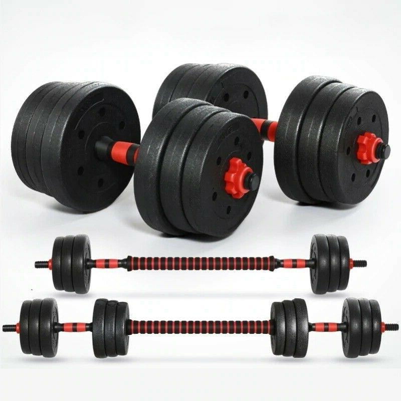 home gym dumbbells barbells machine attachments fitness