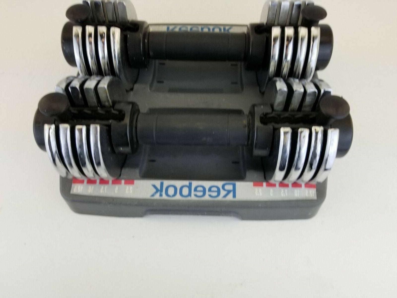 pac 25 dumbbell set of 2 2