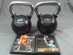 lot of 2 body solid 25 pound