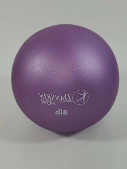 Danskin Now 8LB Weighted Excercise Ball Purple Textured Surf