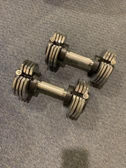 Pro-Form  Pair of 25 Lbs Adjustable Dumbbells